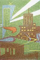 My Michigan Gwen Frostic Benzonia artist linocut block prints 1957