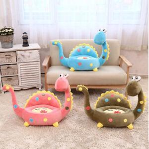 Cute Dinosaur Plush Giraffe Sofa Stuffed Animal Cushion Seat Soft Toy Kid's Gift