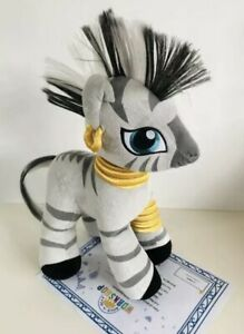 Zecora My Little Pony Build A Bear Zebra Rare Certificate Witch Plush Soft Toy