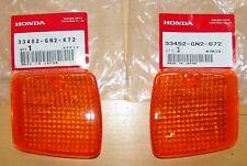 HONDA SPREE/ELITE 50 SE50 NQ50 NB50 BLINKER TURN SIGNAL LENS SET 33402-GN2-672
