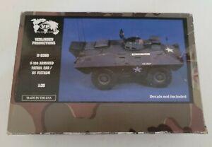 1:35 Verlinden Productions V-100 Armored Patrol Car/US Vietnam