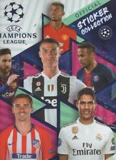NO PANINI / TOPPS CHAMPIONS LEAGUE 2019: COMPLET : ALBUM + 595 STICKERS A COLLER