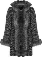 Plus Basic Wool Blend Women's Coats & Jackets