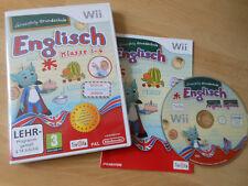 Nintendo Wii Spiel Lernerfolg Grundschule Englisch Klasse 1-4 mit Anleitung