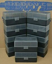 223 / .222 Berry (10 pack of 50 round ammo case / box) Smoke / Black color cases