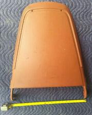 70 71 Mopar Original Bucket Seat Back Panel Cuda Challenger Burnt Orange