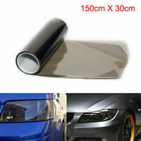 Lights Film Smoke Black Headlights Tail Vinyl Wrap 30cm x 150cm Dash Brake Fog