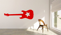 Rock Guitar Music Transfer Wall Art Decal MU20