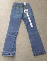 CRUEL GIRL Low Rise Slim Fit  Boot Cut 100% Cotton Blue Jeans CB57753001 NWT