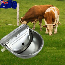 Stainless Steel Automatic Water Bowl for Dog Chicken Horse Drinking AU Stock