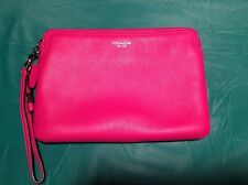Coach iPad Mini/Kindle Case/ Large Wristlet Pink