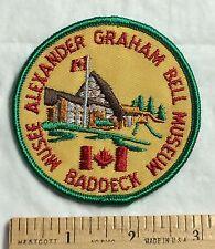 Alexander Graham Bell Museum Baddeck Nova Scotia Canada Round Souvenir Patch