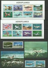 QC1476 MALDIVES TRANSPORT AVIATION AIRPLANES AEROPLANES 2KB+2BL+1SET MNH