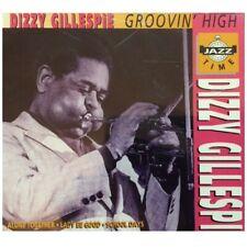 Groovin' High; Dizzy Gillespie 1994 CD, Jazz Trumpet, Bebop, Don Byas, Lalo Schi