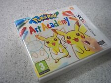 1X Replacement Nintendo 3DS Pokemon Art Academy PAL. Empty 3DS Game Case.