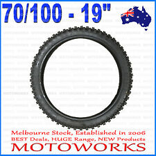 "70/100 - 19"" Inch Front Tyre Tire 150cc 160cc 250cc BIGFOOT PIT TRAIL Dirt Bike"