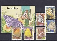 Somali 1998 - Block & Sheets - Vlinders / Schmetterlinge / Butterflies