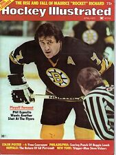 1975 (Apr.) Hockey Illustrated Magazine, Phil Esposito, Boston Bruins