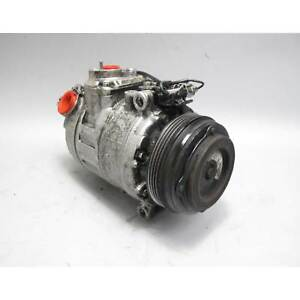 2009-2016 BMW N62 N63N S63 V8 Air Conditioning AC Compressor Pump USED OEM