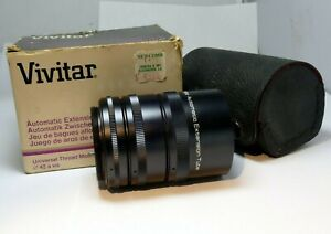At-1  12mm-20mm-36mm macro extension lens tube for M42 Pentax screw mount