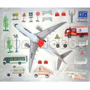 G-ZJET Airport Play Sets Model Toy