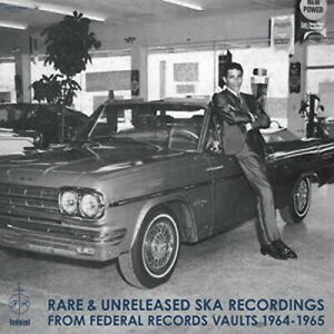 V.A RARE & UNRELEASED SKA RECORDINGS FROM FEDERAL RECORDS JAPAN CD F68