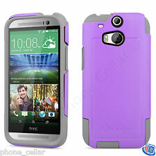 New OEM Otterbox Commuter Series Radiant Purple Shell Case for HTC One M8