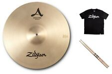 "Zildjian A Series 18"" Crash Ride Cymbal Bundle +Shirt/Sticks 