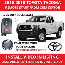 plug & play remote start complete kit 2016 2017 2018 toyota tacoma pts