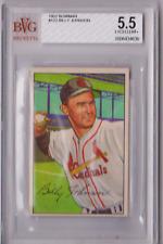 1952 Bowman Billy Johnson #122 BVG Beckett 5.5 P595