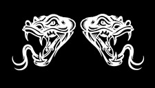 high detail airbrush stencil snakes heads FREE POSTAGE