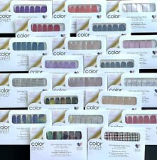 Color Street Nail Polish Strips *New* *Retired* *Htf* *Current* , lot discount