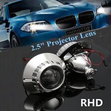 2x 2.5'' Xenon HID RHD Headlight Projector Lens Retrofit Hi/Low Beam For BMW E46