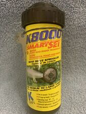 New listing K Rain K8000 Gear Driven Sprinkler 3 3/4 Pop-Up Height Med-Large Yards