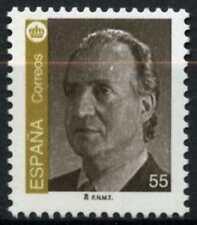 España 1993-2000 SG#3235, 55p el rey Juan Carlos I estampillada sin montar o nunca montada definitiva #D64432