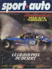 SPORT AUTO n°214 11/1979 avec encart & poster