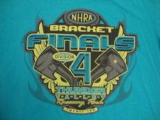 NHRA National Hot Rod Association Bracket Finals 4 2010 T Shirt L