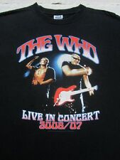 The WHO 2006-2007 tour LARGE concert T-SHIRT