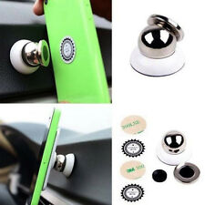 New Universal Magnetic Car Mount Kit Sticky Stand Holder For Mobile Cell Phone P