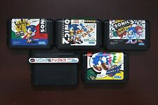 Sega Mega Drive MD Sonic 1 2 3 SONIC and KNUCKLES Japan original games US Seller