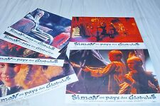 SIMON AU PAYS DES GLOBULES  ! jeu 6 photos cinema lobby cards fantastique