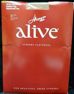 2012 Hanes Alive Full Support Control Top Reinforced Toe Size F Little Color 2
