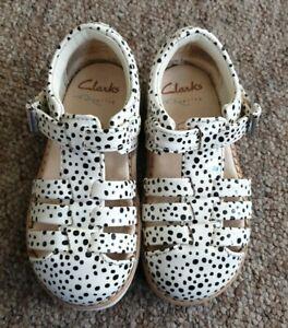 Clarks airsprung Crown Stem Toddler sandal shoe size 6F