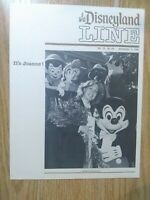 Disneyland Line Magazine November 5, 1981 Cast Members Only Magazine