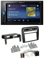 Pioneer 2DIN MP3 USB AUX Autoradio für Fiat Grande Punto 2005-2009 schwarz