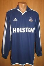 Tottenham Hotspur 2000/2001 Away Shirt Soccer Jersey Adidas Spurs Long Sleeve Xl