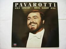 LUCIANO PAVAROTTI - GALA CONCERT- ROYAL ALBERT HALL - LP EXCELLENT CONDITION