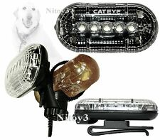 CatEye 5-LED 3-Illumination Modes Front Cycling Safety Light With Belt Clip