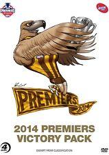 AFL Premiers 2014 Hawthorn Victory Pack  DVD $59.99