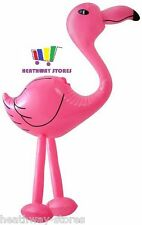 INFLATABLE PINK FLAMINGO 64CM BLOW UP HEN PARTY DECORATION KIDS PARTY BEACH FUN